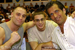Matt Serra, Tom Muller, Ray Longo