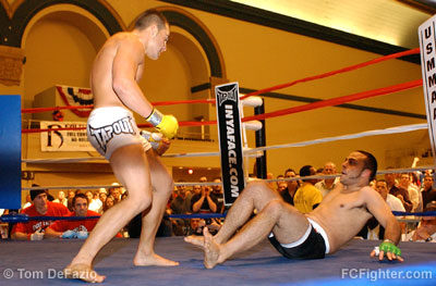 Eddie Alvarez (left) vs. Chris Schlesinger