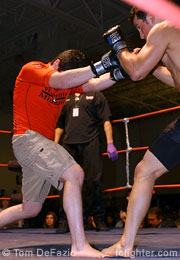 Bret Perchaluk (left) vs. Jesse Moreng