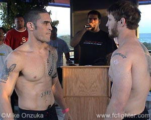 Ron Jhun (left) vs. Ryan Schultz