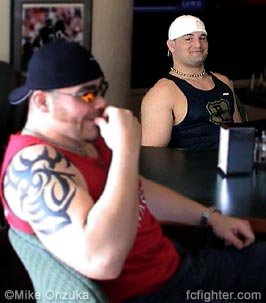Tim Sylvia and Justin Eilers