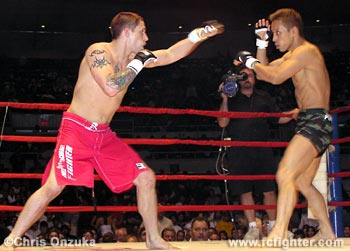 Jeff Curran (left) vs. Kimihito Nonaka