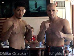 Purebred's Riki Fukuda vs. 185 lb tournament champion Joe Doekson