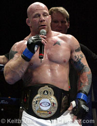 Jeff Monson wins title belt