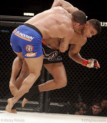 Belfort (left) vs. Overeem