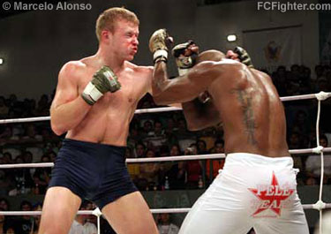 Shlemenko (left) vs. Pele