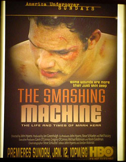 Smashing Machine poster
