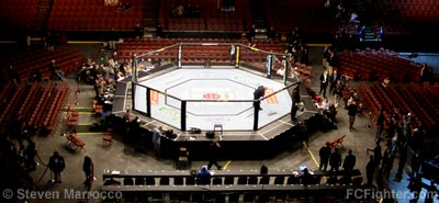 Octagon at UFC 63 - Photo by Steven Marrocco
