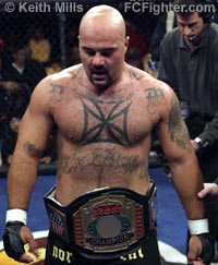 Superfight winner Doug Marshall