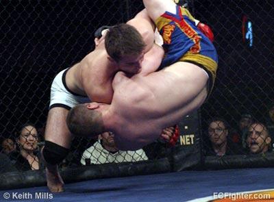 Chael Sonnen taking down Alex Stiebling