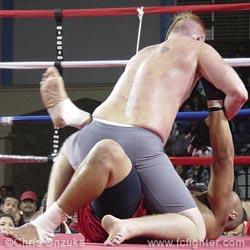 Charles Hendrickson punching Scott Tam