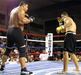 Ira Hookano (right) vs. Doug Chong