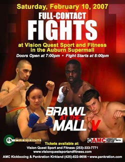 Brawl at the Mall 5 poster