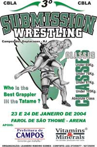 Campos 3rd Submission Wrestling poster