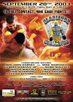 Gladiator Challenge poster