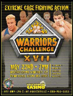 IFC Warrior's Challenge poster