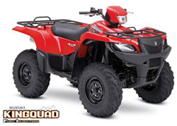Suzuki Kingquad - Photo provided courtesy of IFL