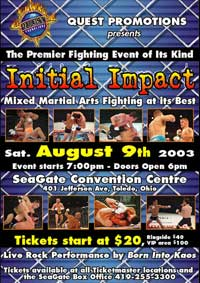 Initial Impact poster
