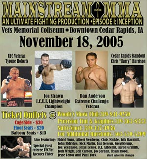 Mainstream MMA Poster