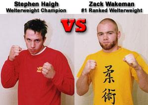 Stephen Haigh vs. Zack Wakeman