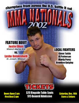MMA Nationals poster
