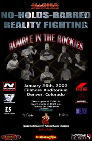 Millennium Sport Fighting poster