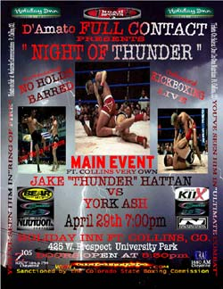 Night Of Thunder Poster