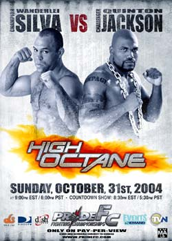PrideFC High Octane poster