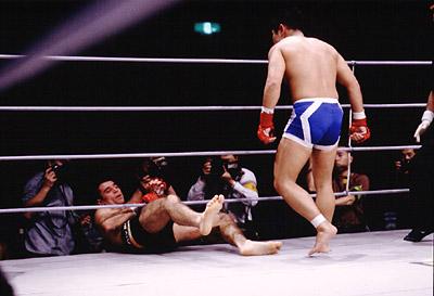 Susumu's shot of Royler Vs. Murahama