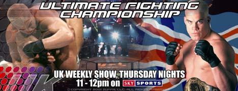 UFC UK banner