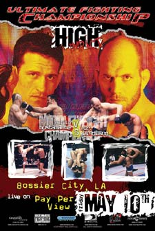UFC 37 poster