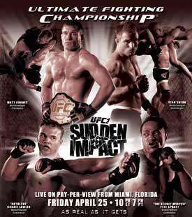 UFC 42 poster