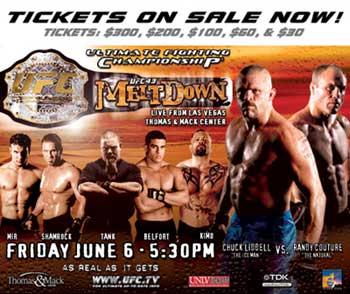 UFC 43 poster