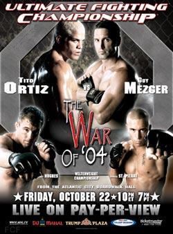 UFC 50 poster