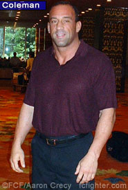 Mark Coleman: Fight day