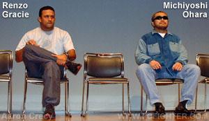 Renzo Gracie and Michiyoshi Ohara