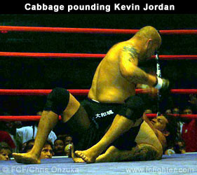 Cabbage pounding on Jordan