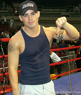 Jens Pulver, former UFC Lightweight Champion
