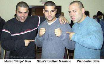 Ninja, Mauricio, Vanderlei