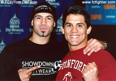 Elvis Sinosic and Frank Shamrock
