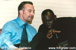 Lorenzo Fertitta and Larry Hazzard