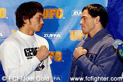 Kaoru Uno and Jens Pulver