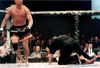 Tito Ortiz after KOing Evan Tanner