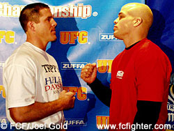 Evan Tanner and Tito Ortiz