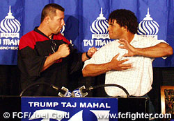 Pat Miletich and Carlos Newton