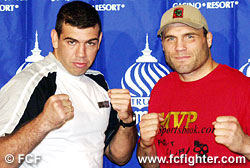 Pedro Rizzo and Randy Couture