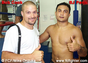 Bob Cook and BJ Penn