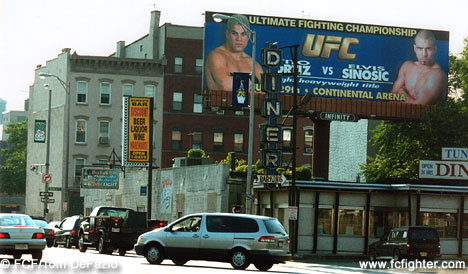 Holland Tunnel UFC Billboard