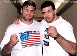 Randy Couture and Pedro Rizzo