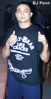 BJ Penn after defeating Caol Uno
